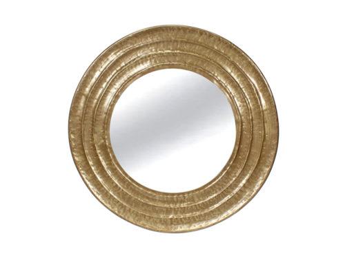 Lustro złote okrągłe 81cm