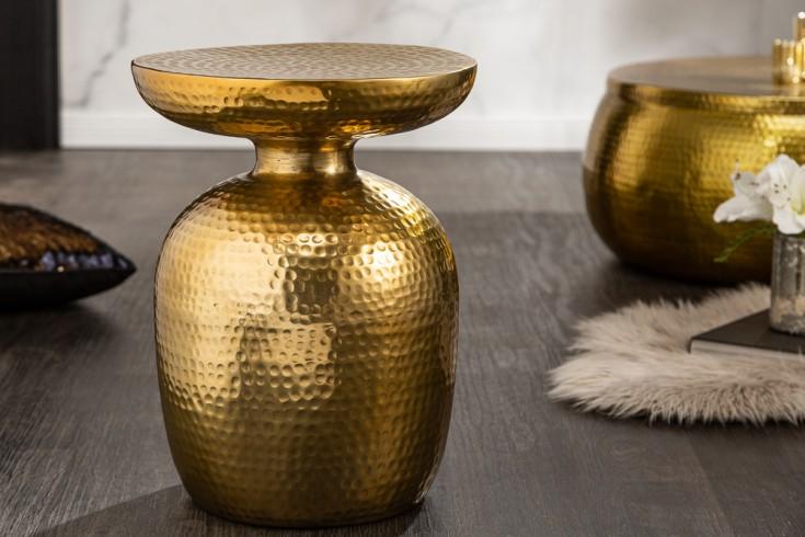 Stolik kawowy Orient Storage 36 cm złoty