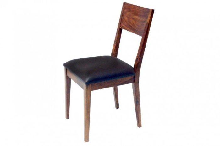 Solidne tapicerowane krzesło do jadalni  PURE NATURE