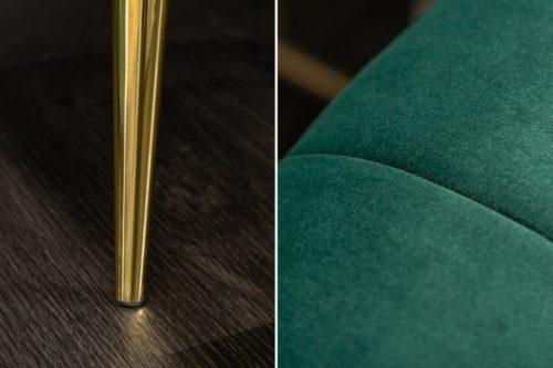 Sofa NOBLESSE 225cm szmaragdowo-zielony