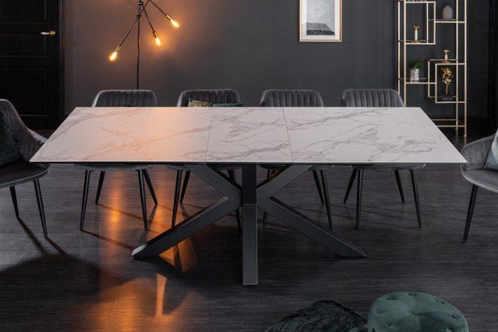 Stół ETERNITY 180-225 cm rozkładany ceramiczny