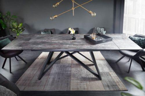 Masywny rozkładany stół do jadalni ATLAS 180-220-260cm