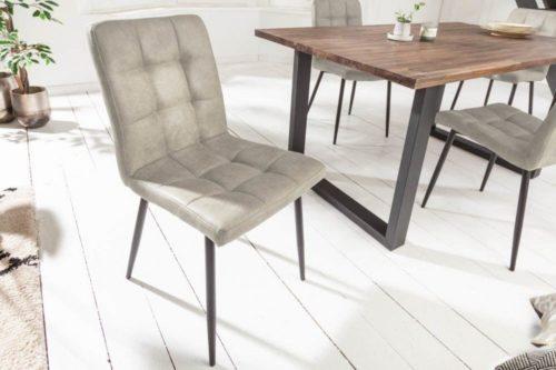 Krzesło MODENA szare retro