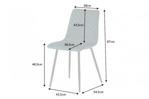 Krzesło AMAZONAS designerskie zielone
