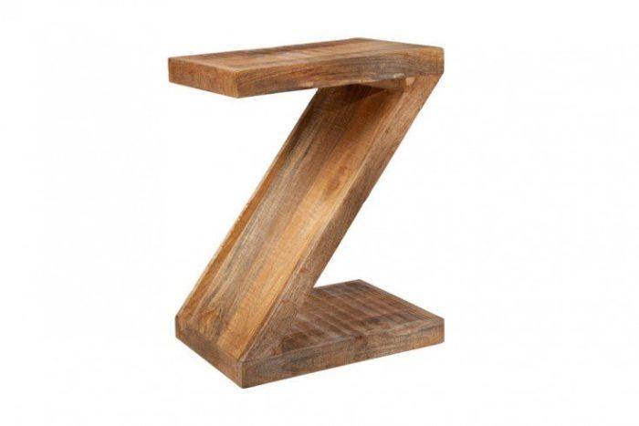 Stolik nocny Z 45 drewno mango