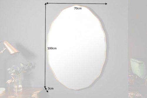 lustro ścienne ELEGANCIA 100cm złote