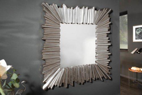 lustro ścienne VENICE 96cm srebrne