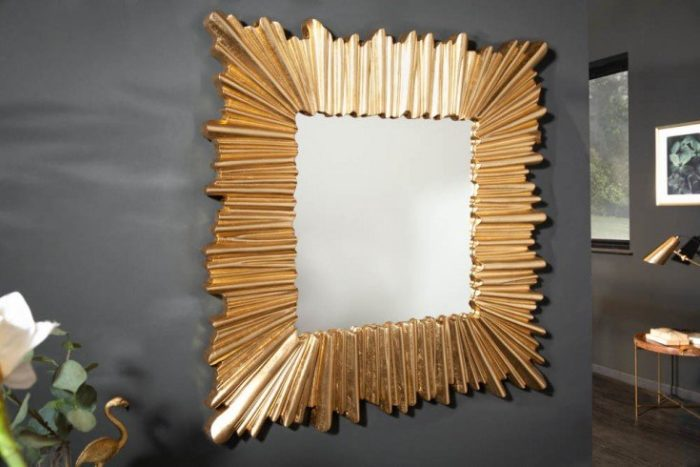 lustro ścienne VENICE 96cm złote