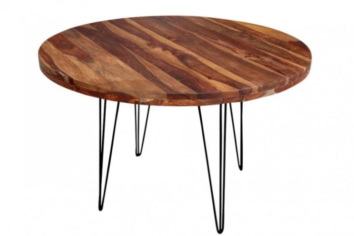 Stół okrągły MAKASSAR 120 cm