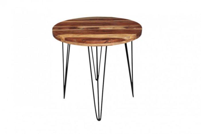 stół okrągły MAKASSAR  80cm