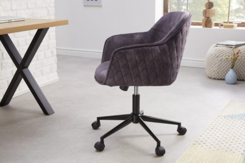Krzesło biurowe EUPHORIA ciemnoszare