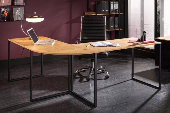 Industrialne biurko narożne BIG DEAL 180 cm