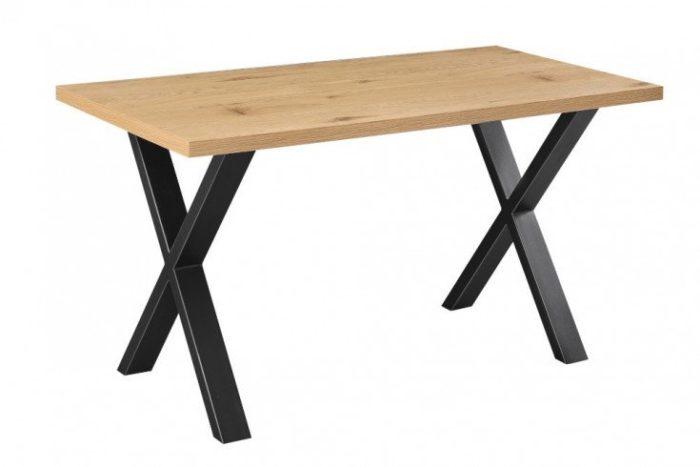 biurko LOFT 140 cm dąb