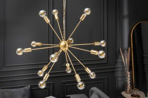 Elegancka lampa wisząca SPUTNIK 87cm
