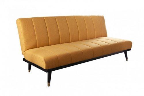 Elegancka sofa 3-osobowa PETIT BEAUTÉ 180cm musztardowa