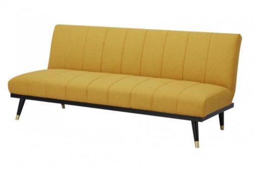 Elegancka sofa 3-osobowa PETIT BEAUTÉ 180cm musztardowa sofa