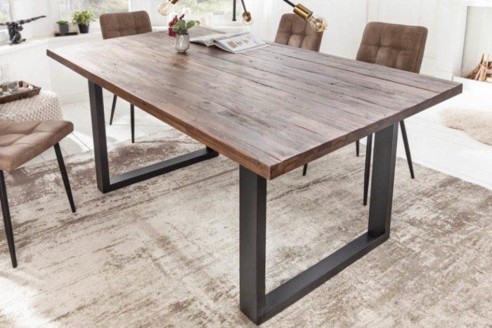 Stół do jadalni WOTAN 200cm akacja
