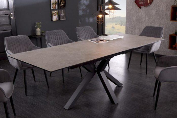 Stół z ceramiki ETERNITY 180-225 cm, rozkładany