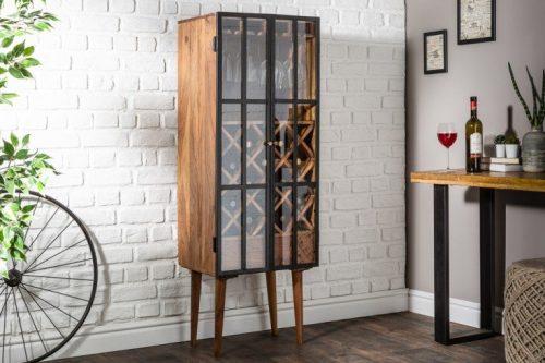 Industrialny stojak na wino BODEGA 145 cm