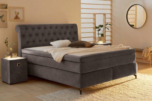 Eleganckie łóżko z materacem sprężynowym VERONA 180x200cm