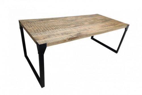 Industrialny stół FACTORY 200cm lite drewno
