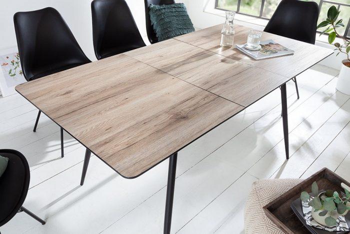 Stół rozkładany APARTAMENT 120-160cm dąb szary