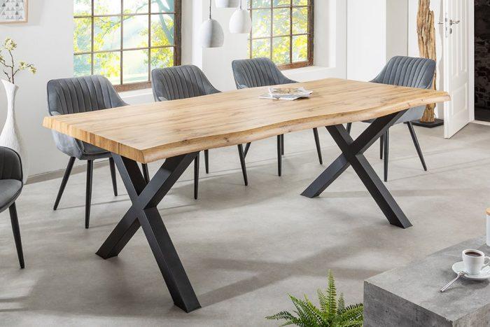 Industrialny stół WILD 160cm dąb