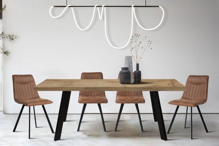 Stół MONTREAL 160-200 cm dąb rozkładany